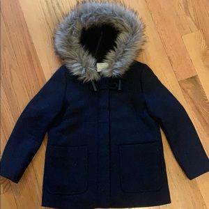 231a022b8 Kids Zara Faux Fur Coat on Poshmark